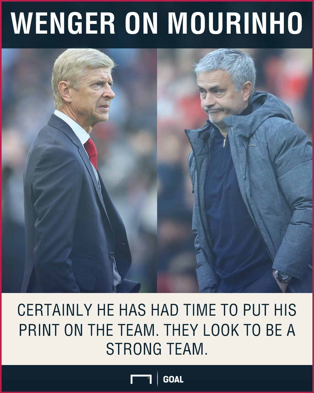 Arsene Wenger Jose Mourinho moulded Manchester United