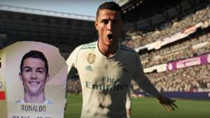 GFX Cristiano Ronaldo MAYBE FAKE Stats Card