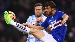 Bereszynski Lulic Sampdoria Lazio Serie A