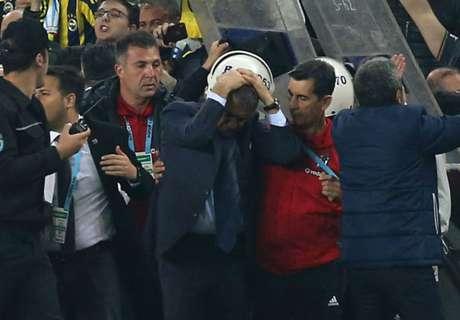 Besiktas refuse to play rest of Fenerbahce clash