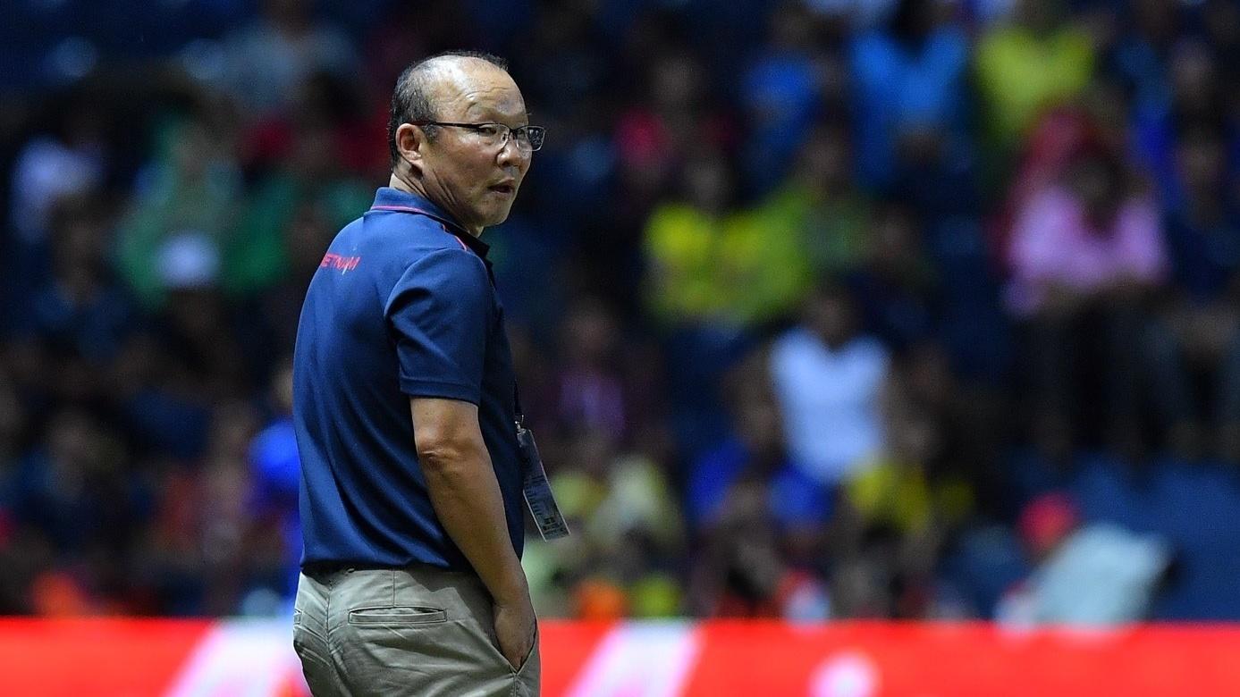 Coach Park Hang-seo Vietnam vs Thailand King's Cup 2019