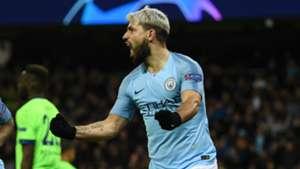 Sergio Aguero, Man City vs Schalke 2018-19