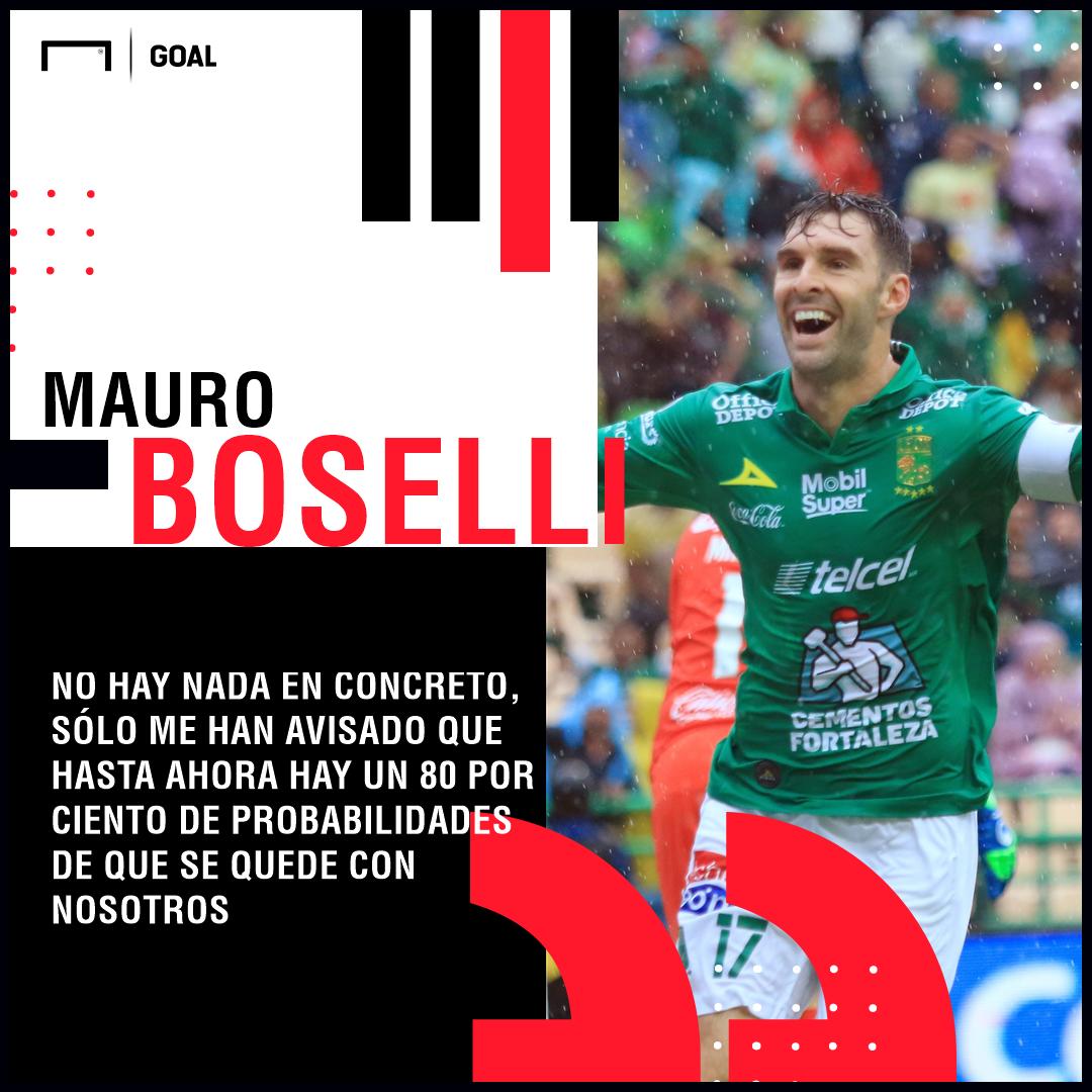 Mauro Boselli Se Quedaría En El León
