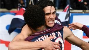 Neymar Edinson Cavani PSG Montpellier Ligue 1 27012018
