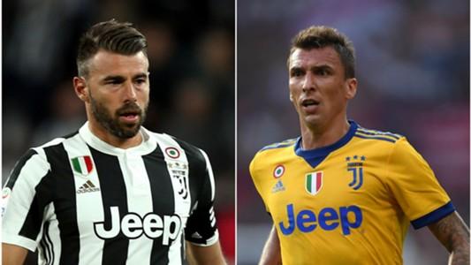 Barzagli, Mandzukic - Juventus