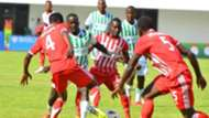 Musa Mohammed of Nkana FC and Kenya.