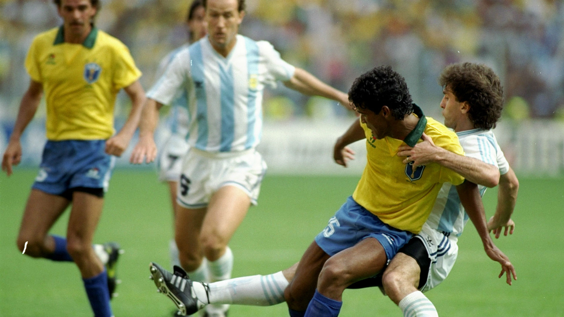 Image result for brazil argentina 1990 water