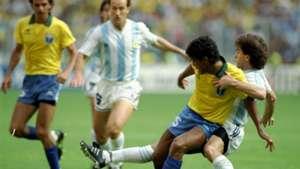 Brazil Argentina 1990