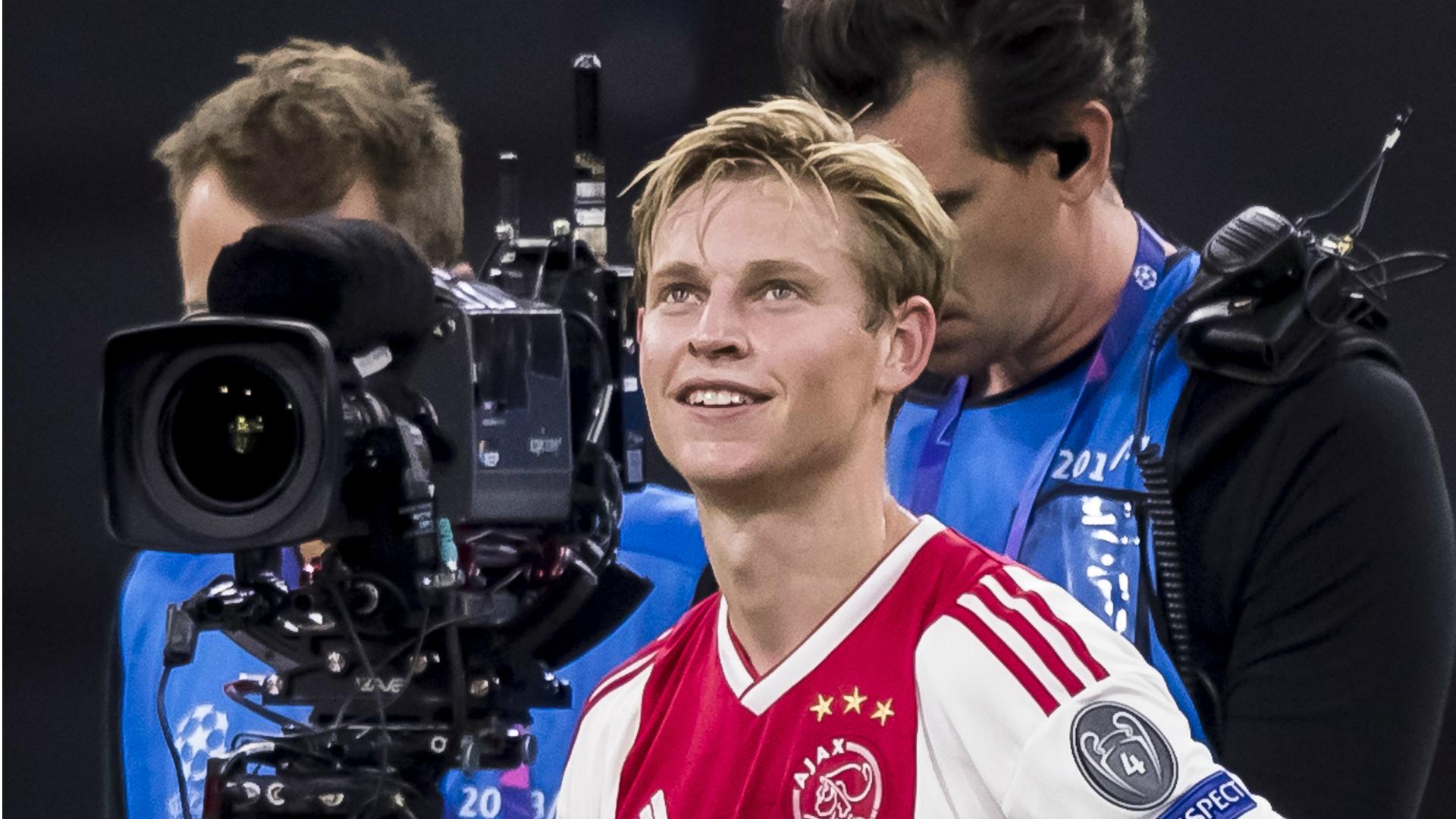 Frenkie de Jong, Ajax - AEK, 09192018