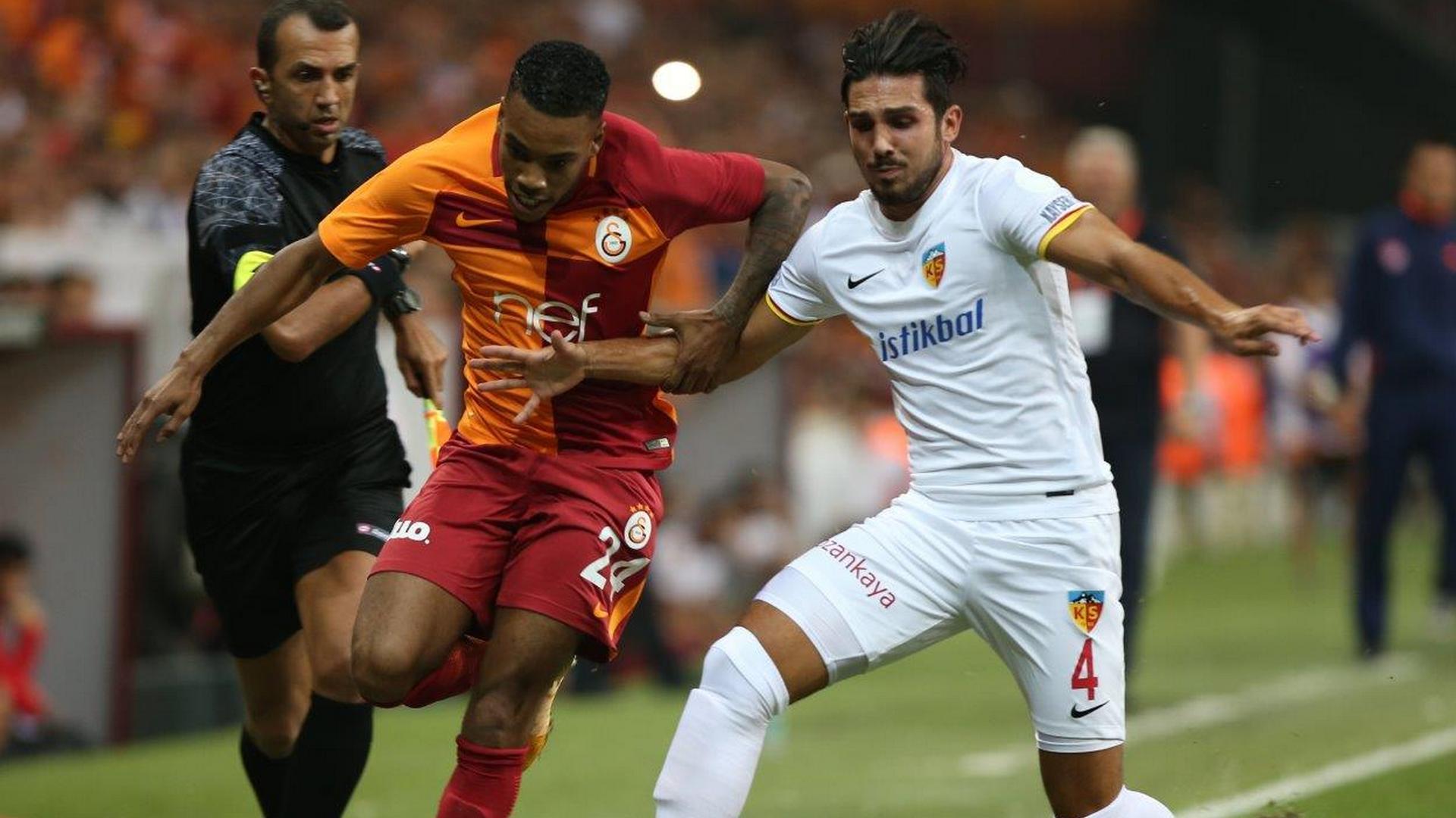 Garry Rodrigues Levent Gulen Galatasaray Kayserispor TSL 08142017