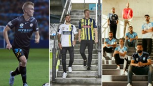 A-League kits collage