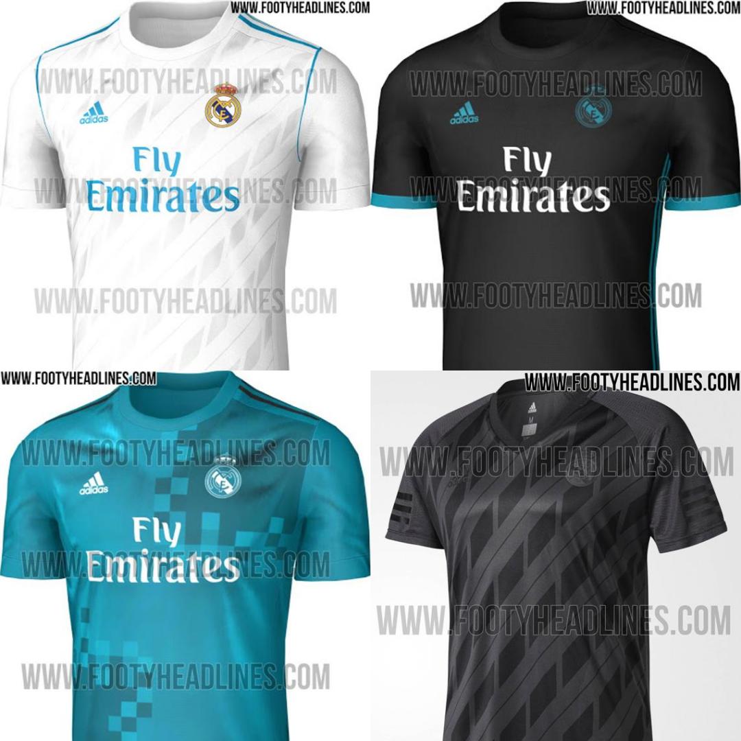 Vuelven a filtrarse las equipaciones del Real Madrid para la 2017 ... 76ed22b074574