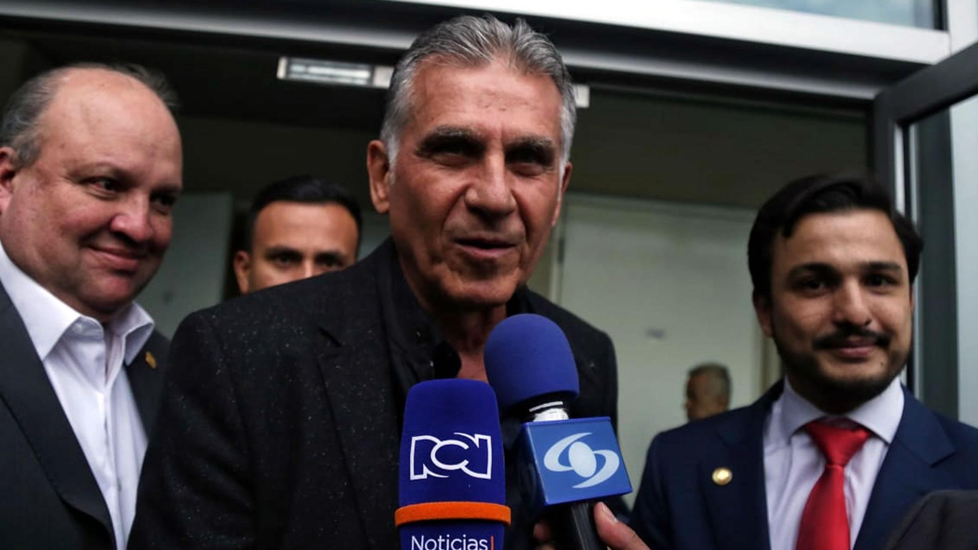 Carlos Queiroz Colombia 2019