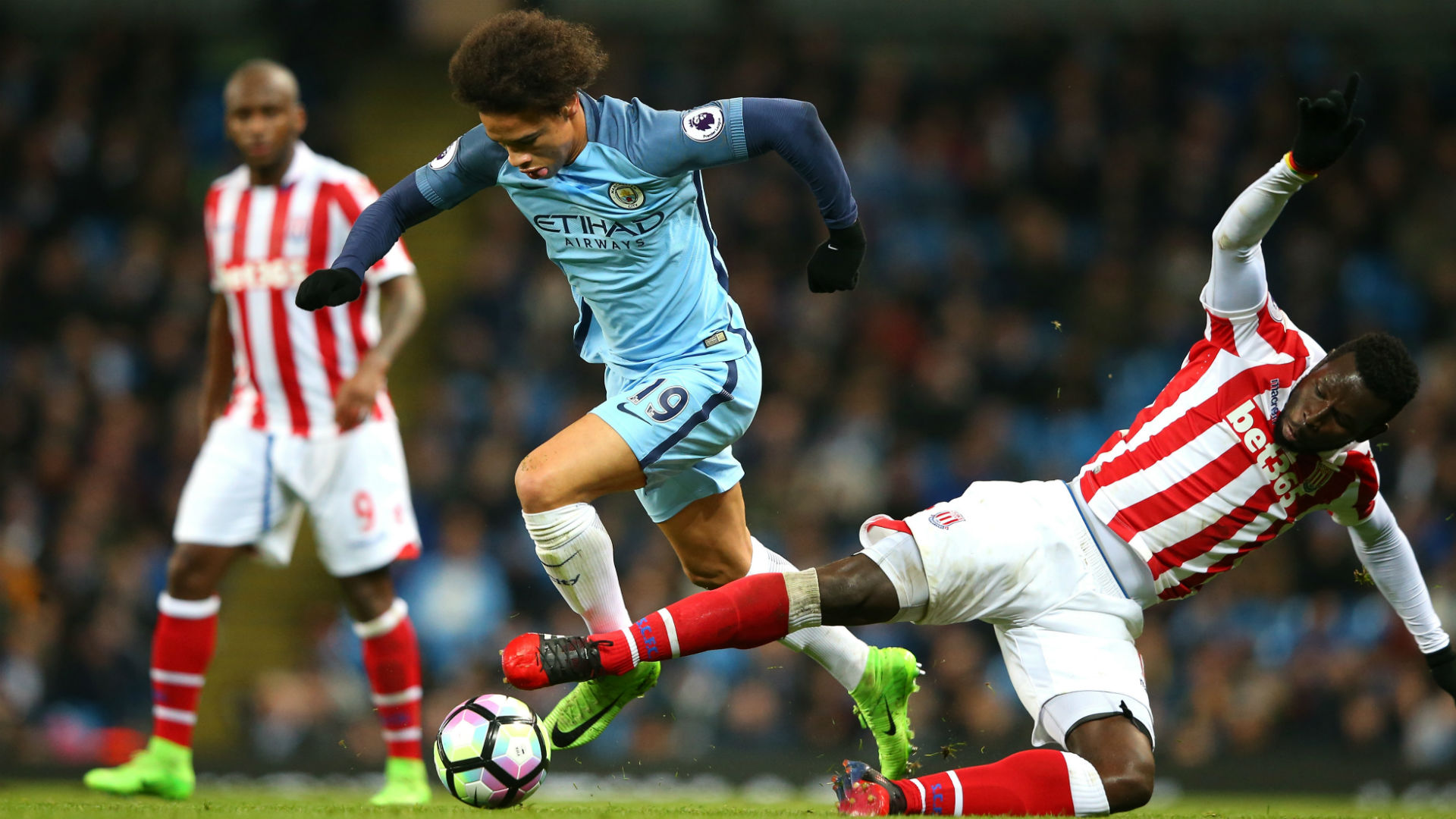 Sane Man City Stoke