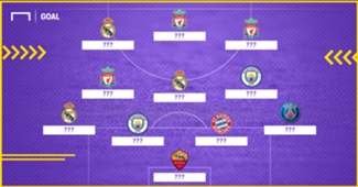 Champions League 1718 XI