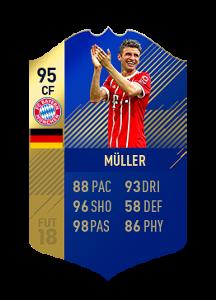 FIFA 18 Bundesliga Team of the Season Thomas Muller