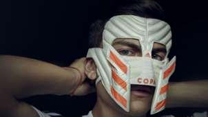 Paulo Dybala Copa 19 mask