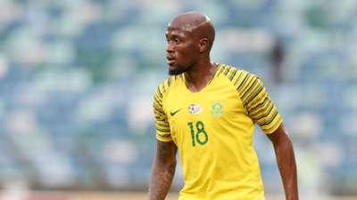 Sifisio Hlanti Bafana Bafana v Libya, September 2018
