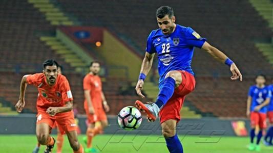 Mohammed Ghaddar, Johor Darul Ta'zim, PKNS FC, Super League, 24/05/2017
