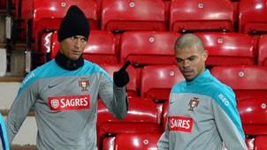 Cristiano Ronaldo & Pepe