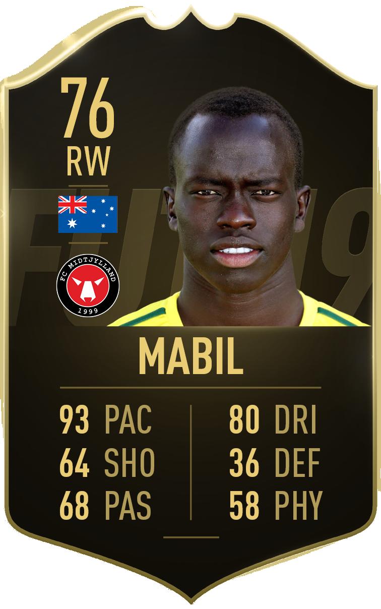 Awer Mabil FIFA 19 TOTW