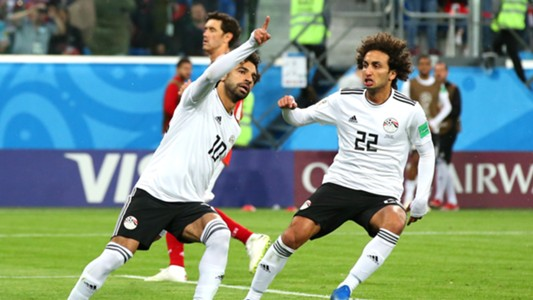 Mohamed Salah Egypt Russia World Cup 2018