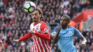 Manolo Gabbiadini Southampton Manchester City Premier League