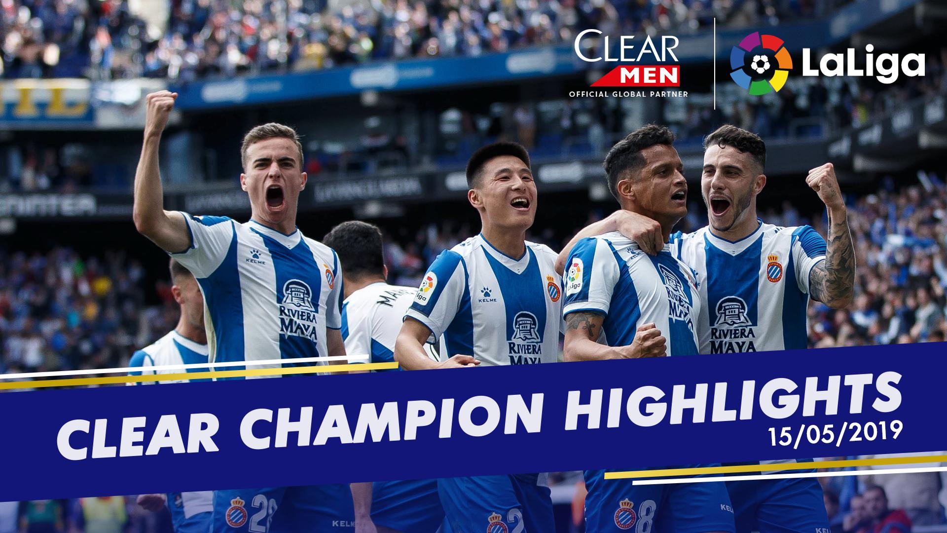 La Liga Clear MEN GFX MD38