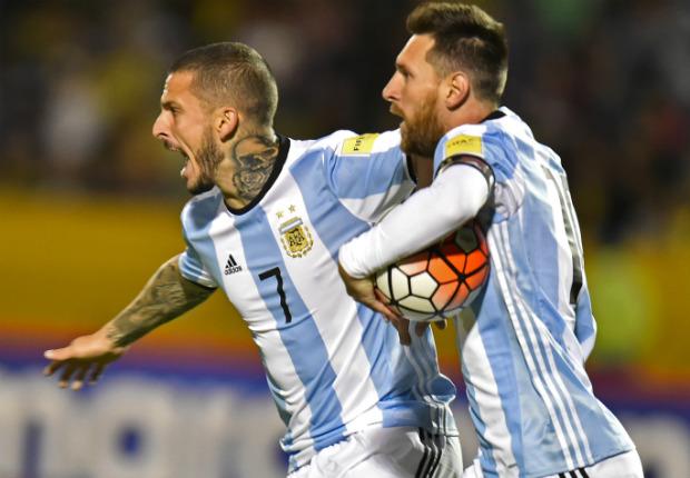 Messi Benedetto Ecuador Argentina Eliminatorias 10102017