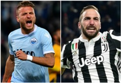 Collage Immobile vs Higuain