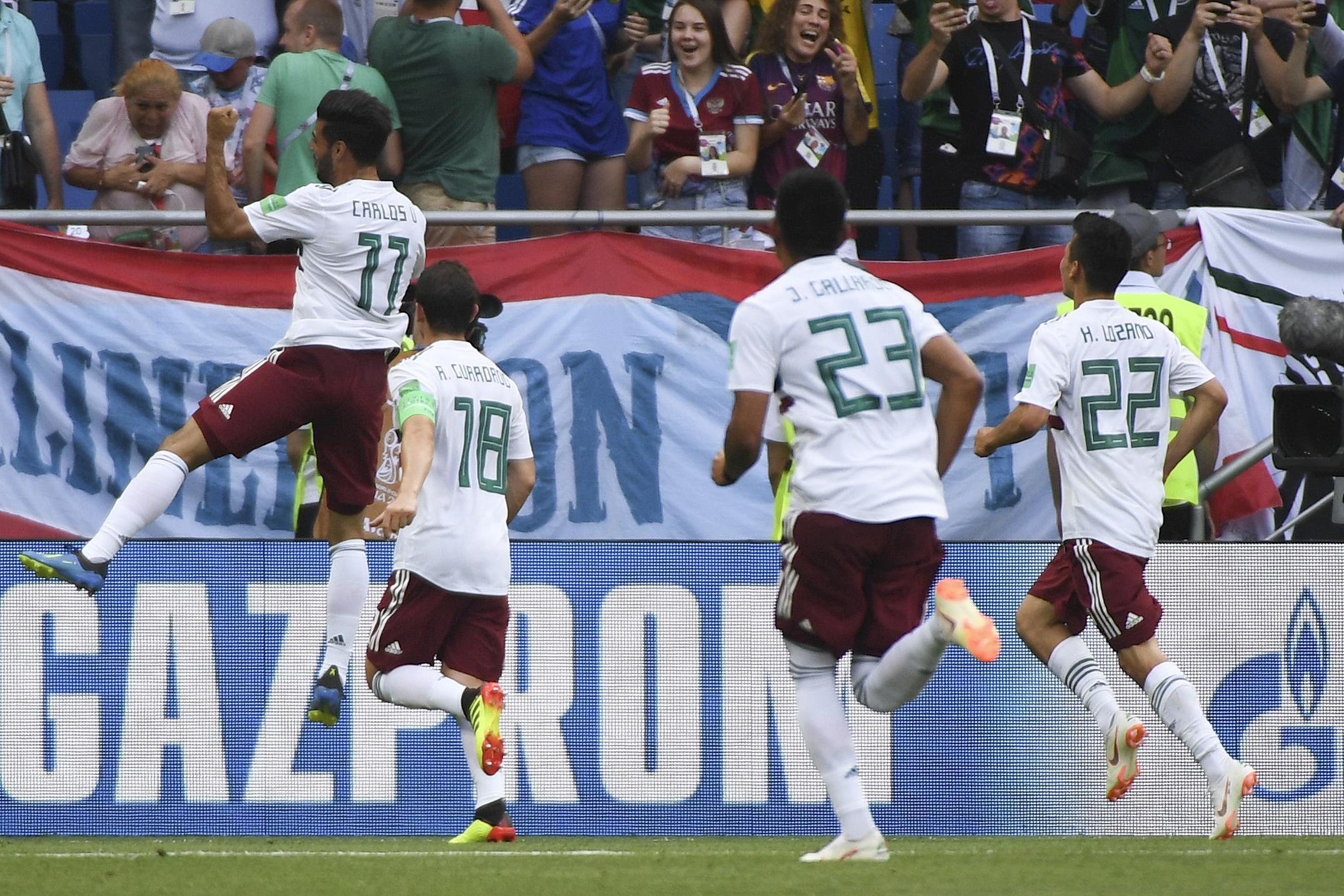 México vs Corea Mundial 2018