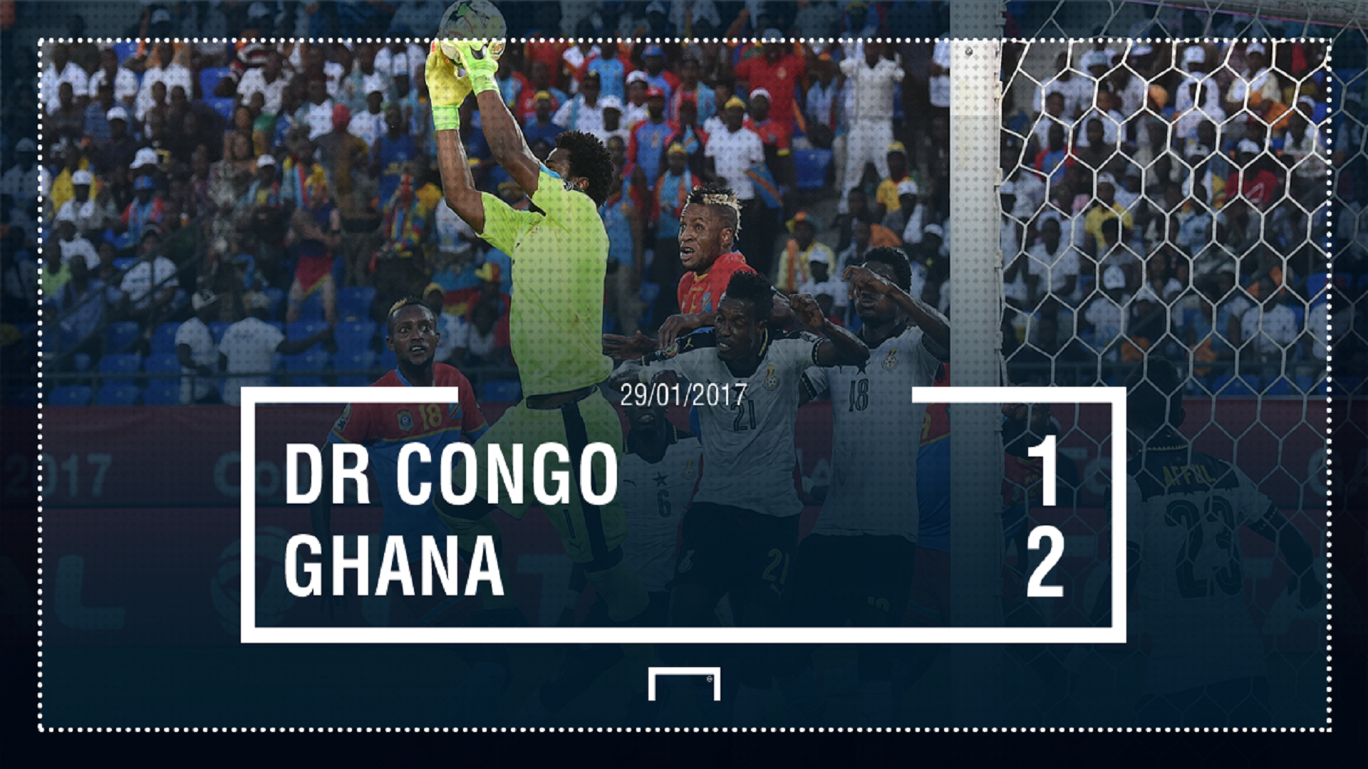 GFX DRC Ghana Afcon final score
