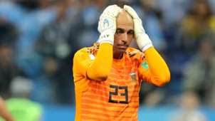Willy Caballero Argentina Croatia World Cup 2018