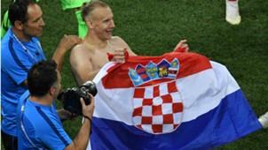 Domagoj Vida Croatia World Cup 01072018