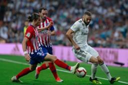 Real Madrid Atletico Madrid La Liga Santander 29092018