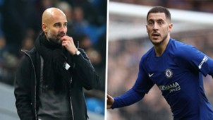 Pep Guardiola Eden Hazard split