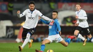 Adam Ounas Napoli Atalanta Coppa Italia