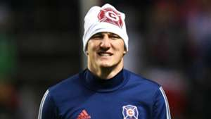 Bastian Schweinsteiger Chicago Fire MLS playoffs