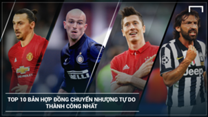 Most successful Free Transfers