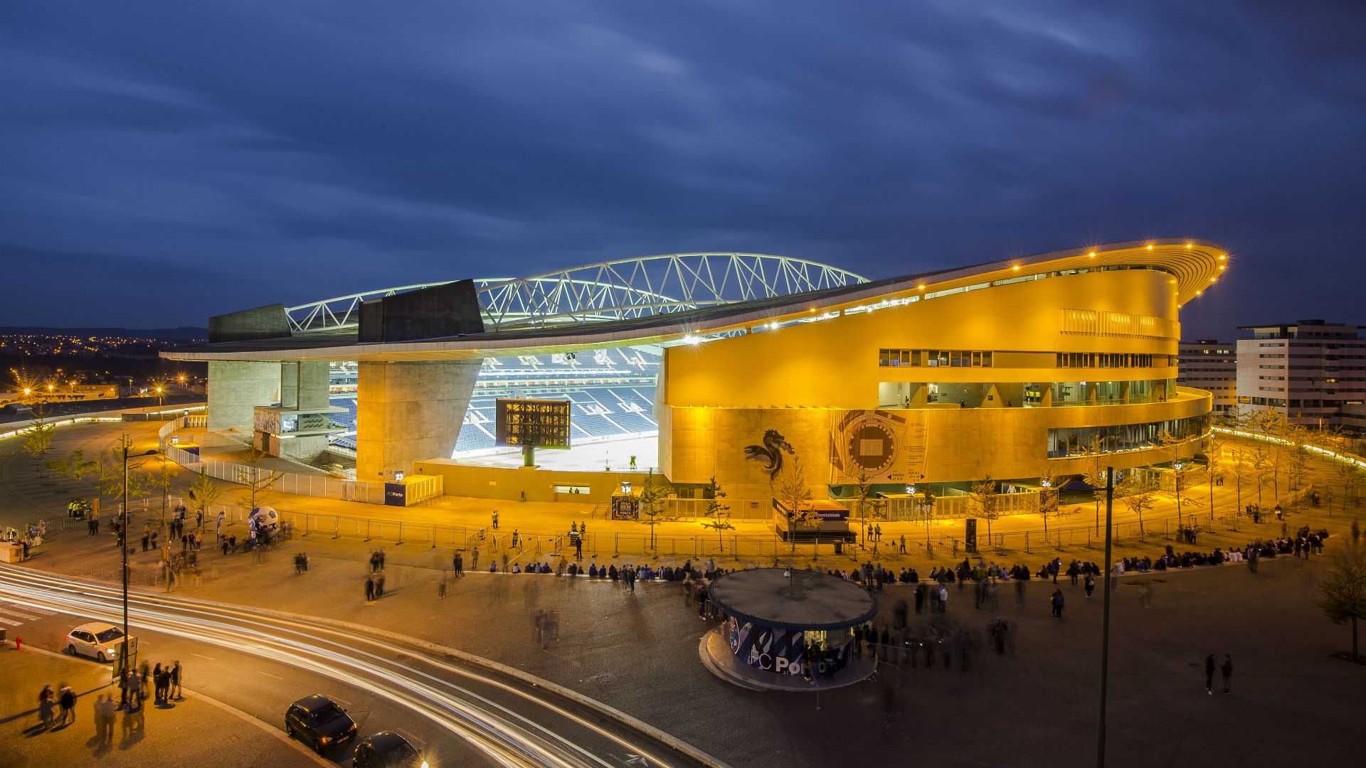 Estadio do Dragao Porto general view