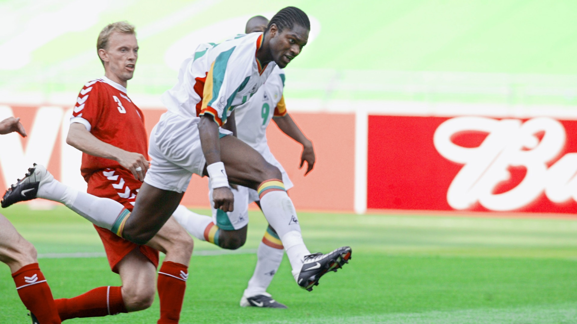 Salif Diao of Senegal vs. Denmark
