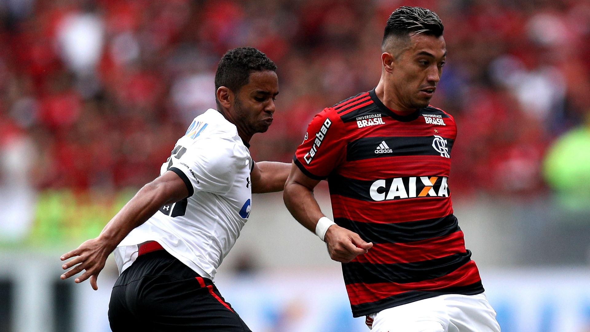Uribe Deivid Flamengo Sport Brasileirão 29 07 2018
