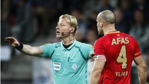Kevin Blom, Ron Vlaar, AZ - PSV, Eredivisie 04072018