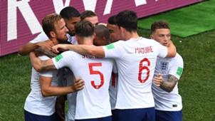 England Celebrations Panama World Cup 24062018