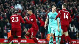 Roberto Firmino Xherdan Shaqiri Liverpool Arsenal