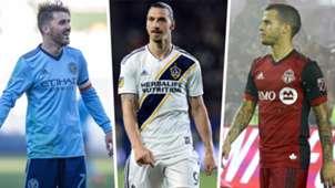 Zlatan Ibrahimovic David Villa Sebastian Giovinco Split