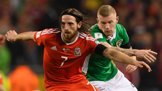 oe Allen Wales James McClean Republic of Ireland