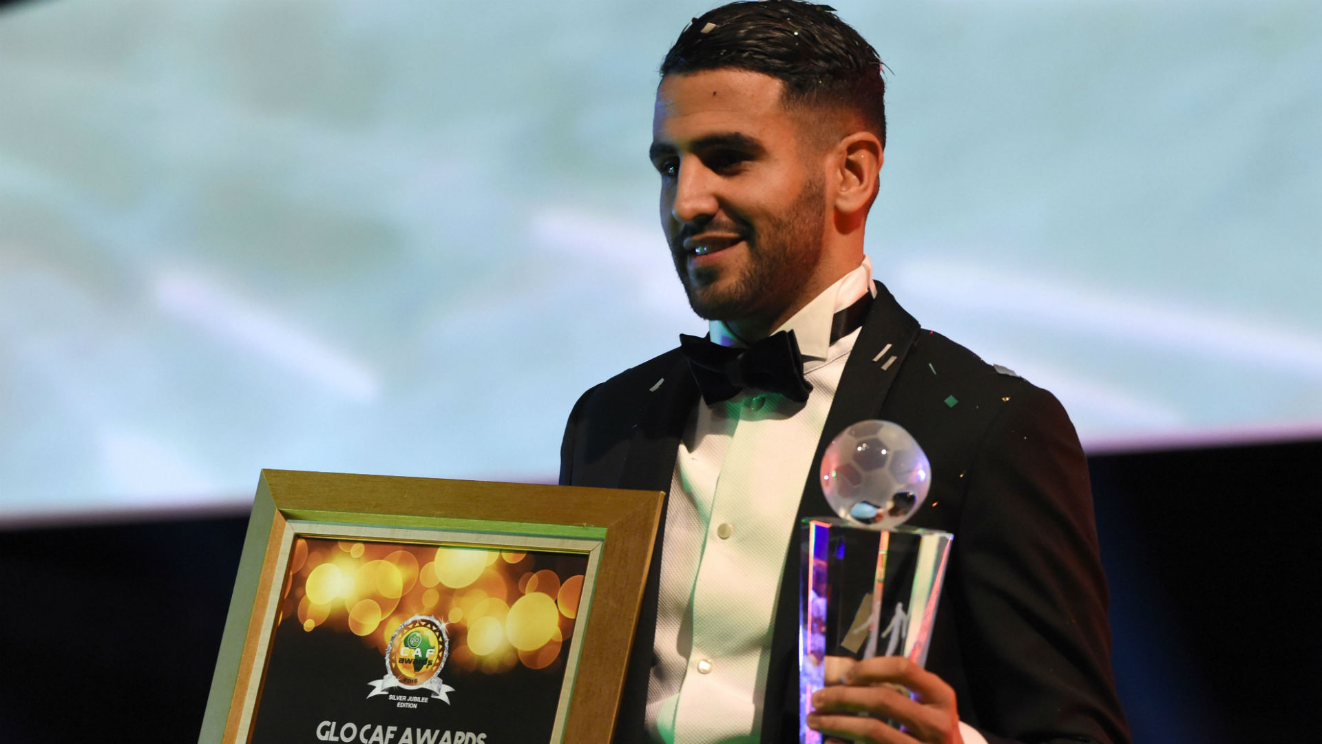 Riyad Mahrez African Footballer of the Year 05012017