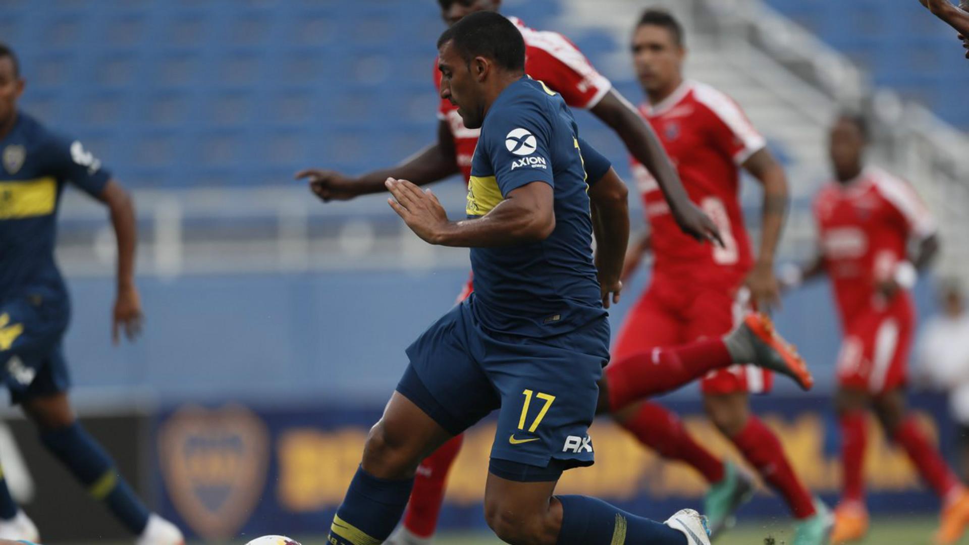 Wanchope Abila Boca Independiente Medellin Amistoso Pretemporada 2018