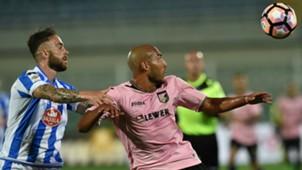Francesco Zampano Haitam Aleesami Pescara Palermo Serie A